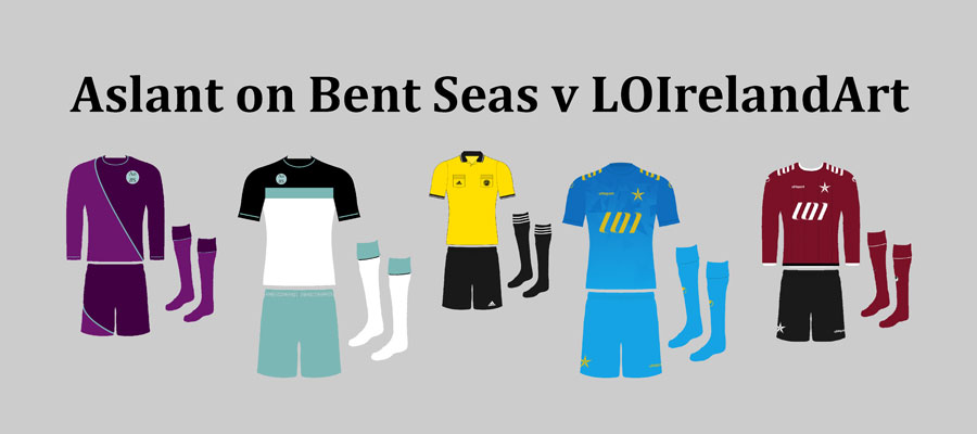 Aslant on Bent Seas v LOIrelandArt