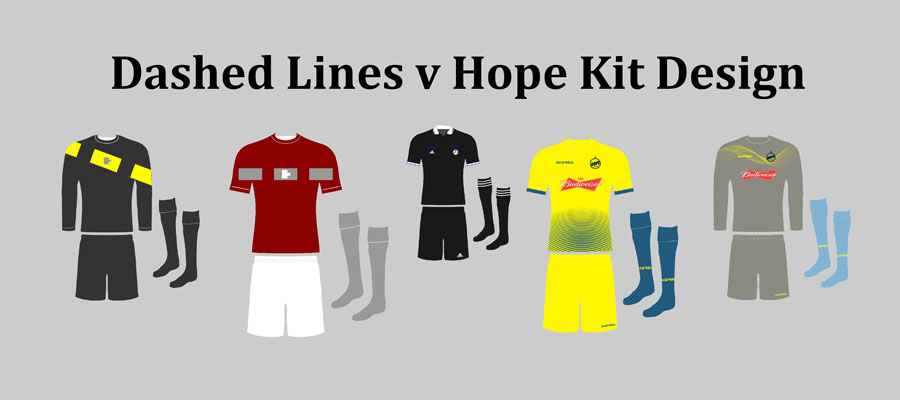 Dashed Lines v Hope Kit Design