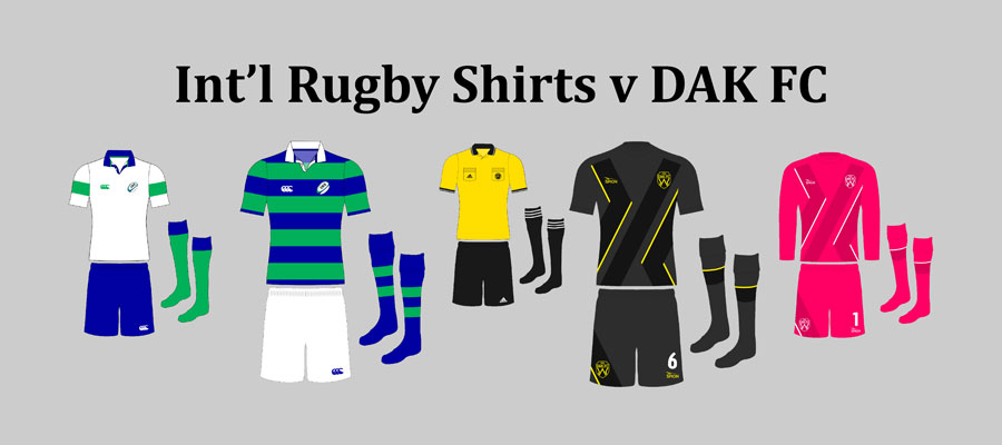 International Rugby Shirts v DAKFC